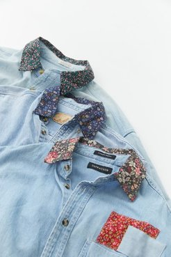 Recycled Floral Chambray Shirt