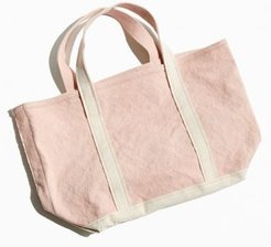 UO Small Washed Cotton Boat Bag