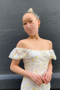 Embroidered Reusable Face Mask