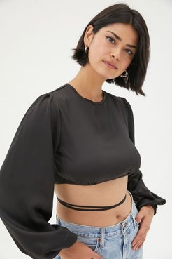 Tongue Tied Open-Back Top