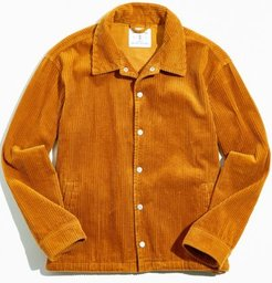 UO Wide Wale Corduroy Coach Jacket