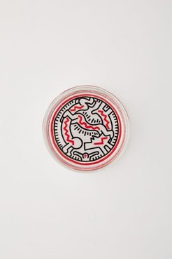Keith Haring Glass Round Catch-All Dish