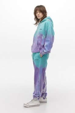 iets frans. Watercolor Tie-Dye Jogger Pant - Blue S at Urban Outfitters