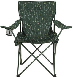 Folding Chair - Patterned - Green