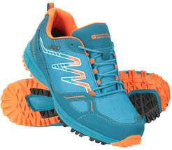 Enhance Waterproof Trail Mens Running Sneakers - Blue
