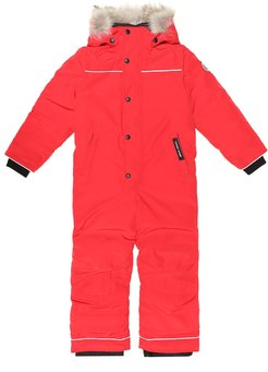 Grizzly down ski suit