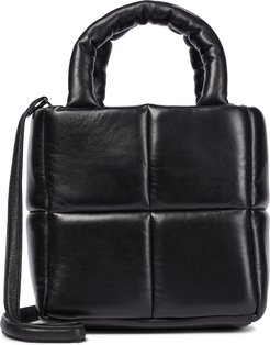 Rosanne quilted leather tote