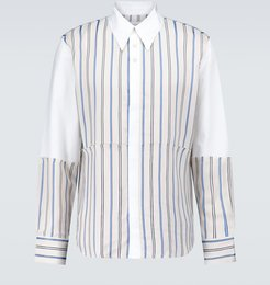Sterling patchwork shirt