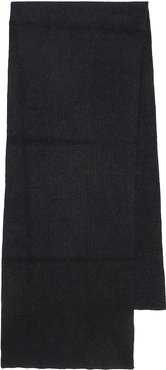 Ribbed-knit wool-blend scarf