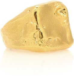 The Lost Dreamer 24kt gold-plated ring