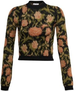 Floral detail sweater