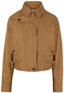 Short Lana trench coat