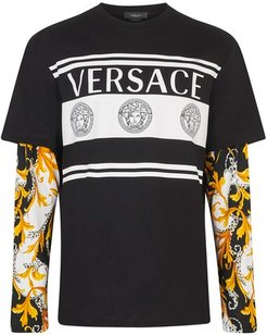Medusa and barocco tromple l'ail long-sleeve t-shirt