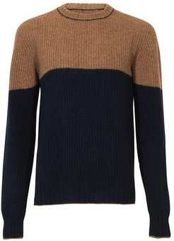 Amaury colour block jumper