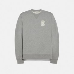 Patch Print Sweatshirt - Men's