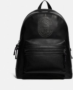 Academy Backpack With Patch - Men's