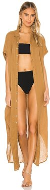 Oahu Duster in Tan. - size S (also in XS)