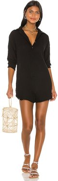 X REVOLVE Kapa'a Romper in Black. - size M (also in S, XS)
