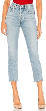 Riley High Rise Straight Crop. - size 26 (also in 29, 30, 31, 32)
