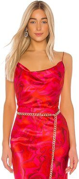 Maria Cami in Red. - size L (also in M, S, XS)