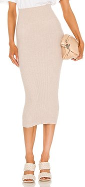 Enya Skirt in Blush. - size L (also in M, S, XS)