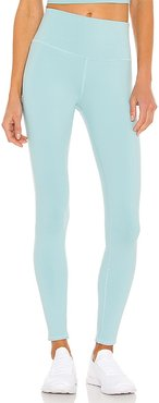 High Waist Airbrush Legging in Blue. - size L (also in S, XS)