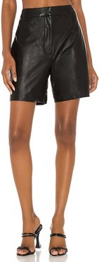 X REVOLVE Griffith Shorts in Black. - size S (also in XS)