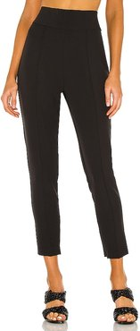 High Waisted Stretch Pants in Black. - size 8 (also in )