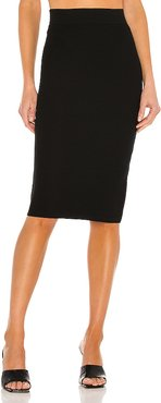 Mika Skirt in Black. - size L (also in M, S, XS)