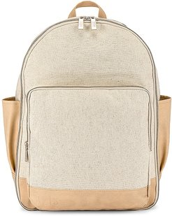Backpack in Beige.