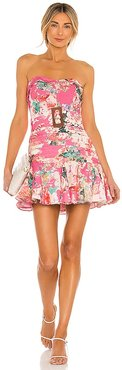 X REVOLVE Sage Dress in Pink. - size L (also in M, S, XS)