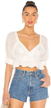 Sole Crop Top in White. - size M (also in XS)