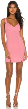 Cocktail Stitched Bodycon Dress in Pink. - size 0 (also in 2)