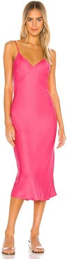 X REVOLVE Vaea Slip Dress in Pink. - size L (also in S, XS)