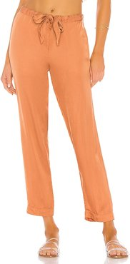 Day Pant in Burnt Orange. - size L (also in M, S, XS)