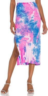 Slip Skirt in Blue,Pink. - size L (also in M, S, XS)