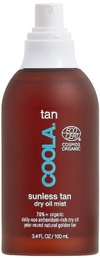Organic Sunless Tan Dry Body Oil Mist in Beauty: NA.