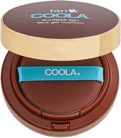 Organic Sunless Tan Luminizing Face Gel Cushion Compact in Beauty: NA.