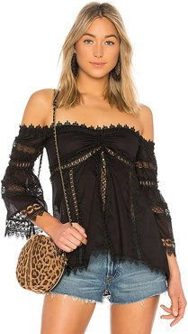 Maya Top in Black. - size M (also in S)