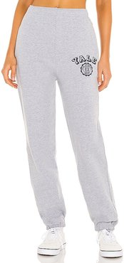 Yale Sweatpants in Grey. - size S (also in XS)
