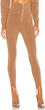 x REVOLVE Stirup Legging in Brown. - size L (also in M, S)