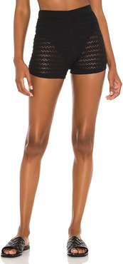 Cleo Shorts in Black. - size L (also in M, S, XS)