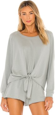 Blair Pullover in Sage. - size L (also in M)