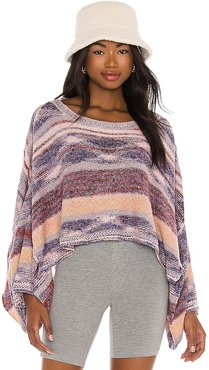 Saturn Poncho. - size L (also in M, S, XS)