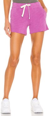 Supersoft Pocket Shorts in Purple. - size L (also in M, S, XS)