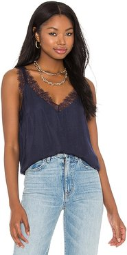 Sheryl Cami in Navy. - size M (also in S, XS)