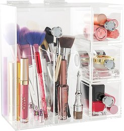 Diamond Collection Brushes & More! Acrylic Organizer in Beauty: NA.