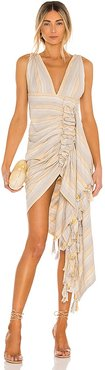 Tulum Dress in Tan. - size M (also in S)