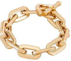 Toni Bracelet in Metallic Gold.