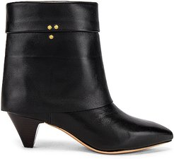 Sandie 50 Boots in Black. - size 36 (also in 37, 38, 39, 41)